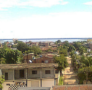 Residential Urbanization in Coari, Amazonas, Brazil